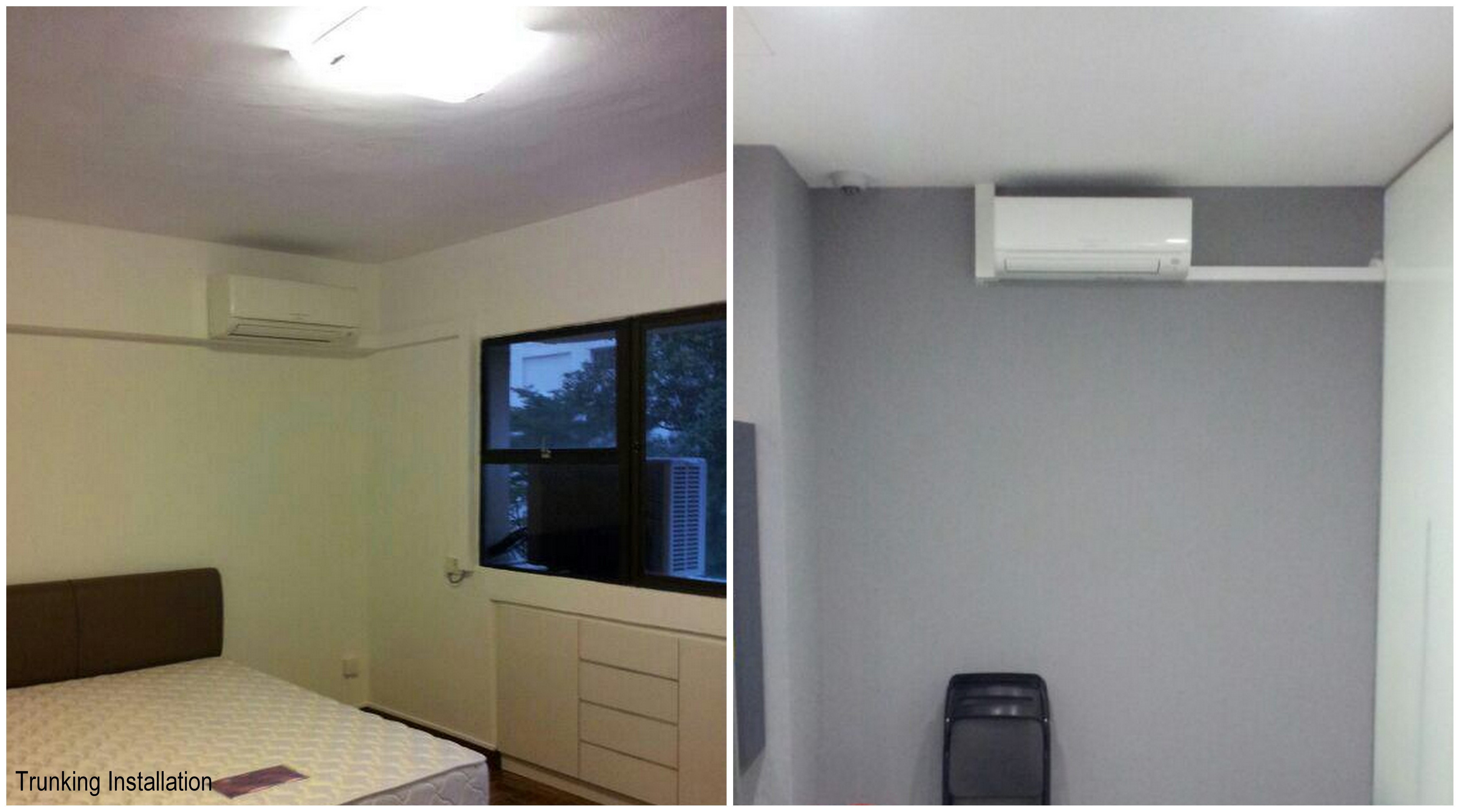 air conditioning trunking. lower installation cost. air conditioning trunking